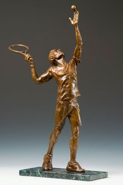 Ad-In bronze sculpture